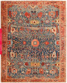 Antique Persian Serapi Rug 49080 Nazmiyal Antique Persian Rugs View this beautiful and extremely fine weave antique Persian Serapi rug from the Nazmiyal Collection in New York City. Silver Grey Carpet, Dark Carpet, Modern Carpet, Beige Carpet, Persian Carpet, Persian Rug, Carpet Shops, Patterned Carpet, Carpet Colors