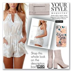 """""""Put on Love, Yoins"""" by soygabbie ❤ liked on Polyvore featuring Pussycat, yoins, yoinscollection and loveyoins"""