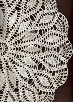 Crochet doilies Crocheted Lace Doily Rustic by TheDoiliesEmporium