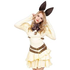 STEAMPUNK  Cream Bunny Costume -- Find out more about the great product at the image link-affiliate link