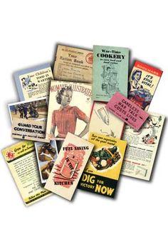 Home Front Memorabilia Pack at BBC Shop
