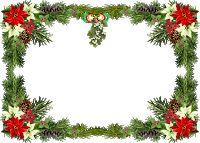 Beautiful PNG Christmas Photo Frame - Sognando i Sogni. Christmas Picture Frames, Christmas Frames, Christmas Paper, Christmas Pictures, Wallpaper Natal, White Lily Flower, Flower Frame Png, Christmas Border, Free Christmas Printables