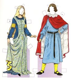 Medieval Costumes (1200-1350)