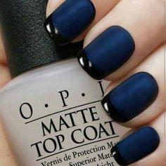 Black-blue French
