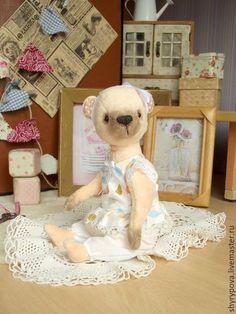 Ведмедики Тедді ручної роботи. Ярмарок Майстрів - ручна робота. Купити Татита. Handmade. Кремовый, купить мишку Тедди, медвежонок