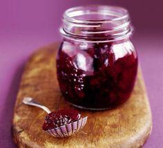 Spicy blackberry chutney