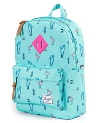 HERSCHEL SUPPLY CO TOTS HERITAGE BACKPACK - SOUTH BEACH on http://www.surfstitch.com