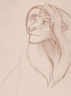 Sketch 04 - The Lion King by Veldalis on DeviantArt