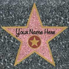 Walk of Fame Stars-12 Pack | Windy City Novelties