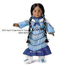 American Girl Doll Kaya's Jingle Dress of Today