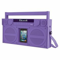 Hahah, put your iPod into its own boombox! http://thestir.cafemom.com/beauty_style/165246/5_totally_rad_gifts_for?utm_medium=sm&utm_source=pinterest&utm_content=thestir