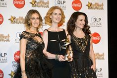 Celebrities attend the 2010 ShoWest Awards