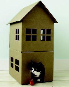 DIY DOG HOUSES / CAT HOUSES on Pinterest
