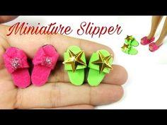 tutorial: mini doll slippers