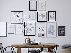 My scandinavian home: which interior look do you like best? home deco сканд Dining Room Walls, Dining Area, Dining Decor, Room Chairs, Dining Corner, Small Dining, Inspiration Wall, Interior Inspiration, Interior Ideas