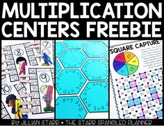 Free Addition, Subtraction & Number Recognition Centers - The Starr Spangled Planner