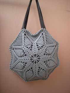 Crochet bag patterns Pineapple bag crochet pattern DIY