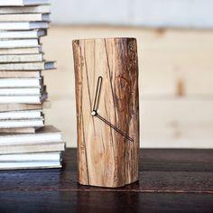 Wood Stump Clock | dotandbo.com