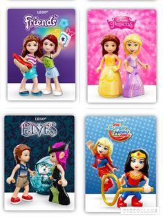 Lego Mini Doll Brands