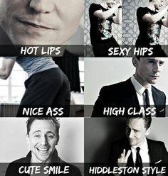 Tom Hiddleston love