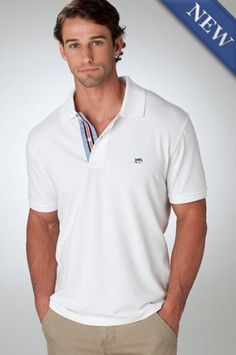 Southern Tide's Navigational Collection Skipjack polo is designed with their innovative True-Vent Micro Pique, beach glass inspired buttons, simple embroidery and nautical trim for a clean look that is truly one-of-a-kind. Preppy Boys, Simple Embroidery, Southern Tide, Sports Shirts, Rib Knit, Polo Shirt, Polo Ralph Lauren, Sleeves, Mens Tops