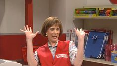 Kristen Wiig as the Target Lady...one of my absolute faves.