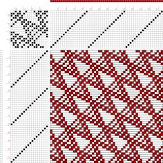 draft image: Figure 697, A Handbook of Weaves by G. H. Oelsner, 18S, 18T