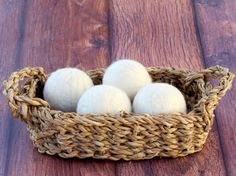 DIY Wool Dryer Balls from TheFrugalGirls.com