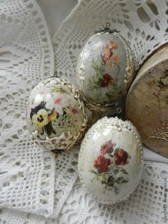 Яйца ручной работы. Ярмарка Мастеров - ручная работа яйцо пасхальное сувенирное. Handmade.