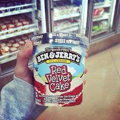 Red Velvet Cake Ben & Jerry's Ice Cream
