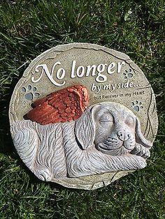Pet Memorial Grave Marker Headstone Dog Cat Horse