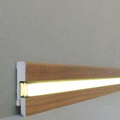 licht fu leisten licht sockelleisten chemnitz mdf foliert edelstahl. Black Bedroom Furniture Sets. Home Design Ideas