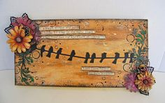 2Crafty Chipboard - Marilyn's October Creations