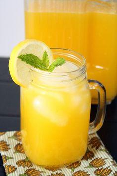 Mango Lemonade by foodiemisadventures #Lemonade #Mango