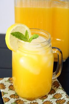 Mango Lemonade by foodiemisadventures #Lemonade #Mango