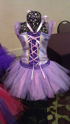 Tangled inspired Tutu Costume