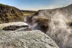 Gullfoss From The Other Side