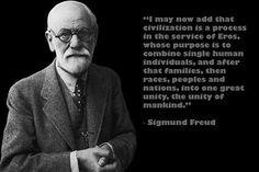famous psychoanalyst SIGMUND FREUD photo quote poster UNITY MANKIND 24X36 Brand New. 24x36 inches. Will ship in a tube. - Multiple item purchases are combined the next day and get a discount for domes