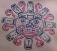 Resultat d'imatges de dibujos tatuajes tribales tolteca
