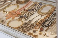 Need a glass top jewelry drawer in my oversized walk-in closet..... one day
