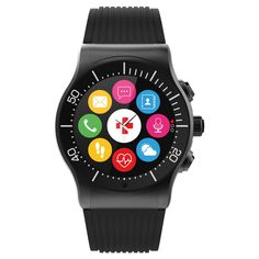 MyKronoz ZeSport Multisport Gps Smartwatch - Black, Black/Black