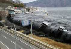 Tsunami waves as high as 1 metre rolled into north-eastern Japan Friday after a earthquake struck the region, the Meteorological Agency said. The agency, which had issued a tsunami wa. Tsunami Waves, Tsunami 2011, Japan Earthquake, Earthquake And Tsunami, Earthquake Disaster, Fukushima, Natural Phenomena, Natural Disasters, Santa Cruz