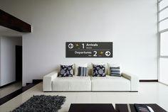Altijd een vakantiegevoel dankzij de muurdecoratie van Airpart Roomed   roomed.nl