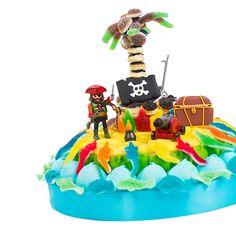 gateau pirate en bonbon pour anniversaire par candy mail
