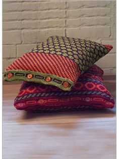 Fair Isle Pillows - Interweave