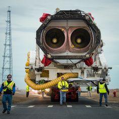 Antares Rocket Rollout (201401050013HQ) #rocket #nozzle
