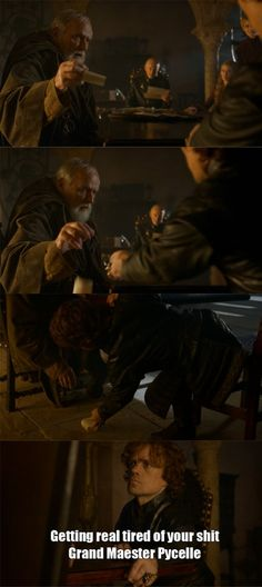 Tyrion and Pycelle - Game of Thrones