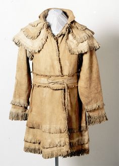 Buckskin hunting shirt