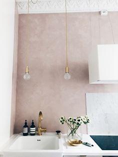 drømmeboligen #sink #pinkwall