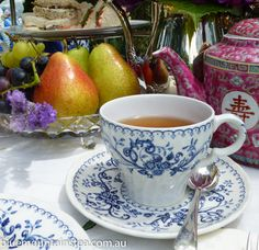 A private high tea for two, www.bluemountinai..., Blue Mountains Australia. Aussie High Tea.